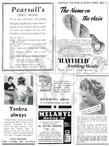1940s Wartime Adverts jpeg download
