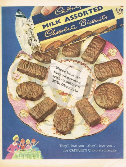 Image result for 1950s uk biscuits