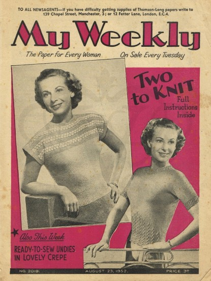My Weekly Magazine August 1952