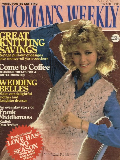 Womans Weekly Magazine April 1983