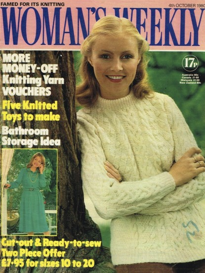 Womans Weekly Magazine October 1980