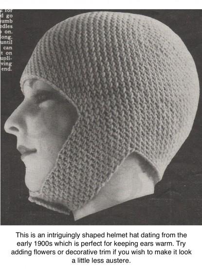 1900s Joan Of Arc Helmet Hat Crochet Pattern