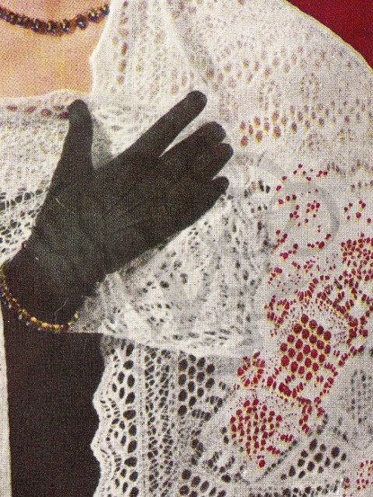 How to make a shetland lace shawl-knitting pattern, Spi...