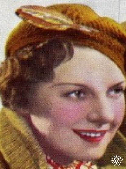 1930s Pique Stitch Tam Crochet Pattern