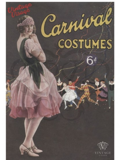 Carnival Costumes Postcard