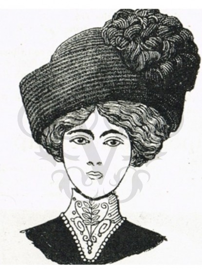 how to make an edwardian turban hat crochet pattern