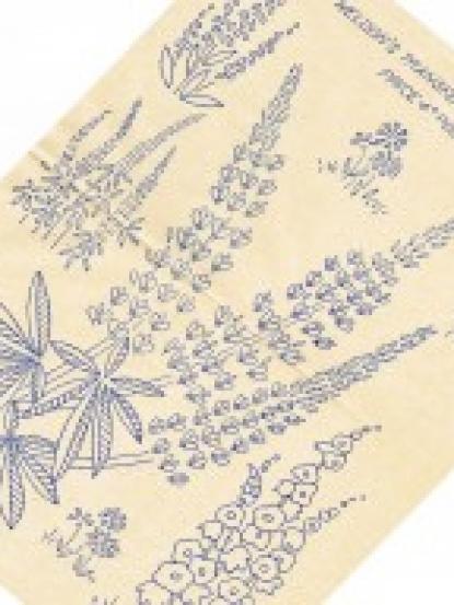 Vintage london landmarks embroidery transfer instantly