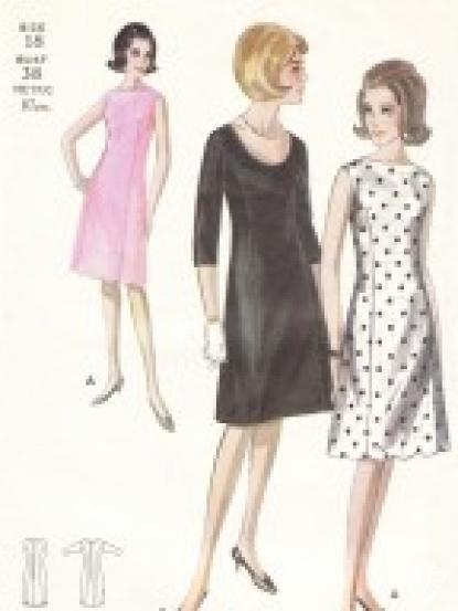 1960s Chic and elegant fitted day dresses- Jackie Kennedy