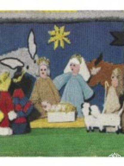 Christmas Nativity Crib Knitting pattern- Three Kings, Shephards etc