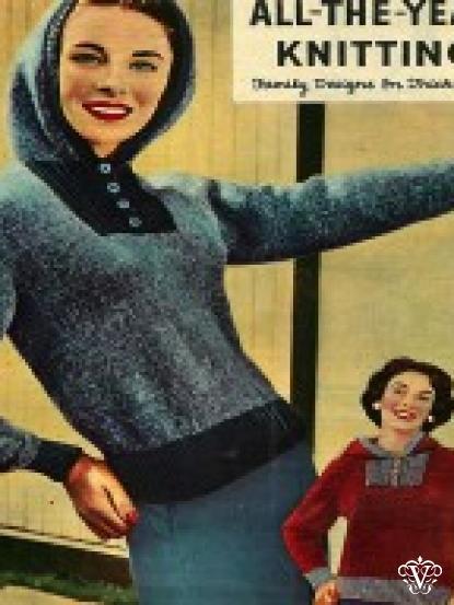 4b3e365d9991 Vintage 1960s Knitting Patterns- 5 designs