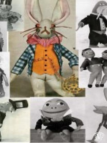 Vintage Visage - Toy,Doll Patterns PDF