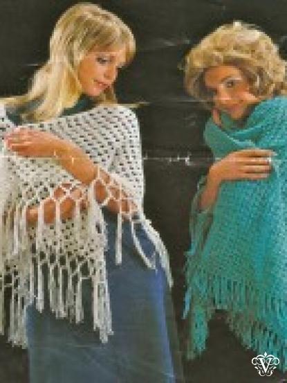 how to make a shawl dawl