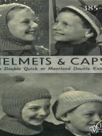 Boys Hats Balaclava And Ski Headband Vintage Knitting Patterns